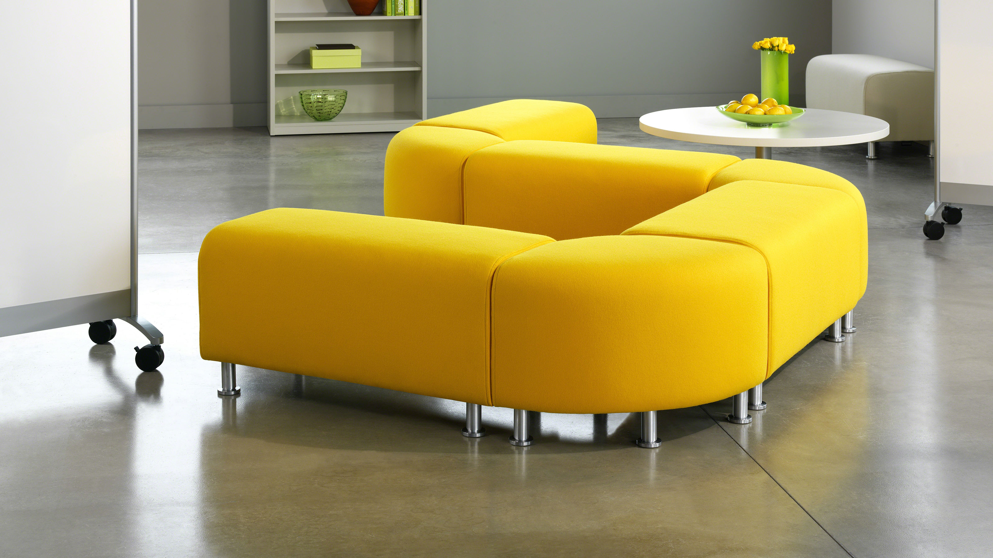 Turnstone alight modern ottomans steelcase - What is an ottoman ...