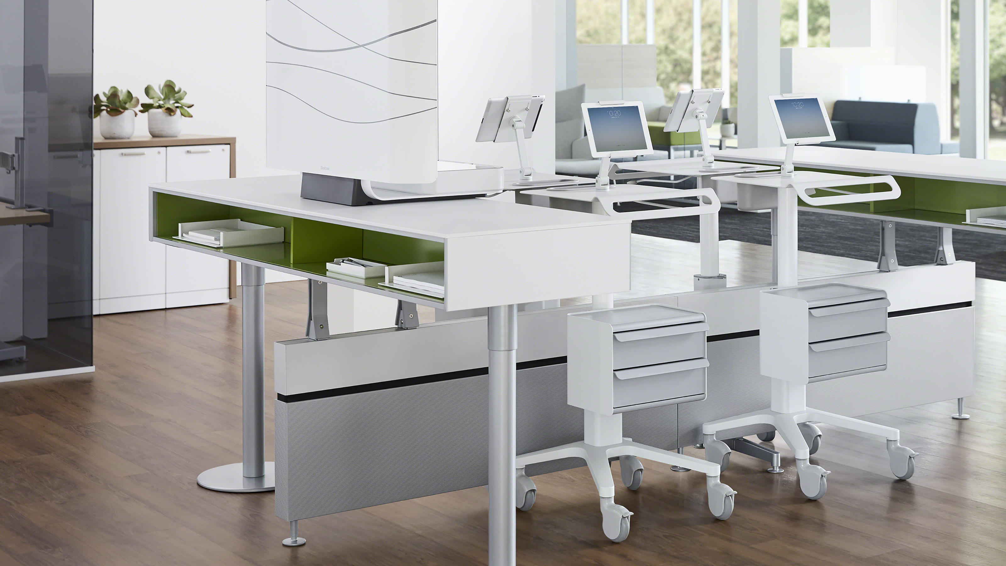 Pocket Mobile Worksurface Amp Workspace Steelcase Health