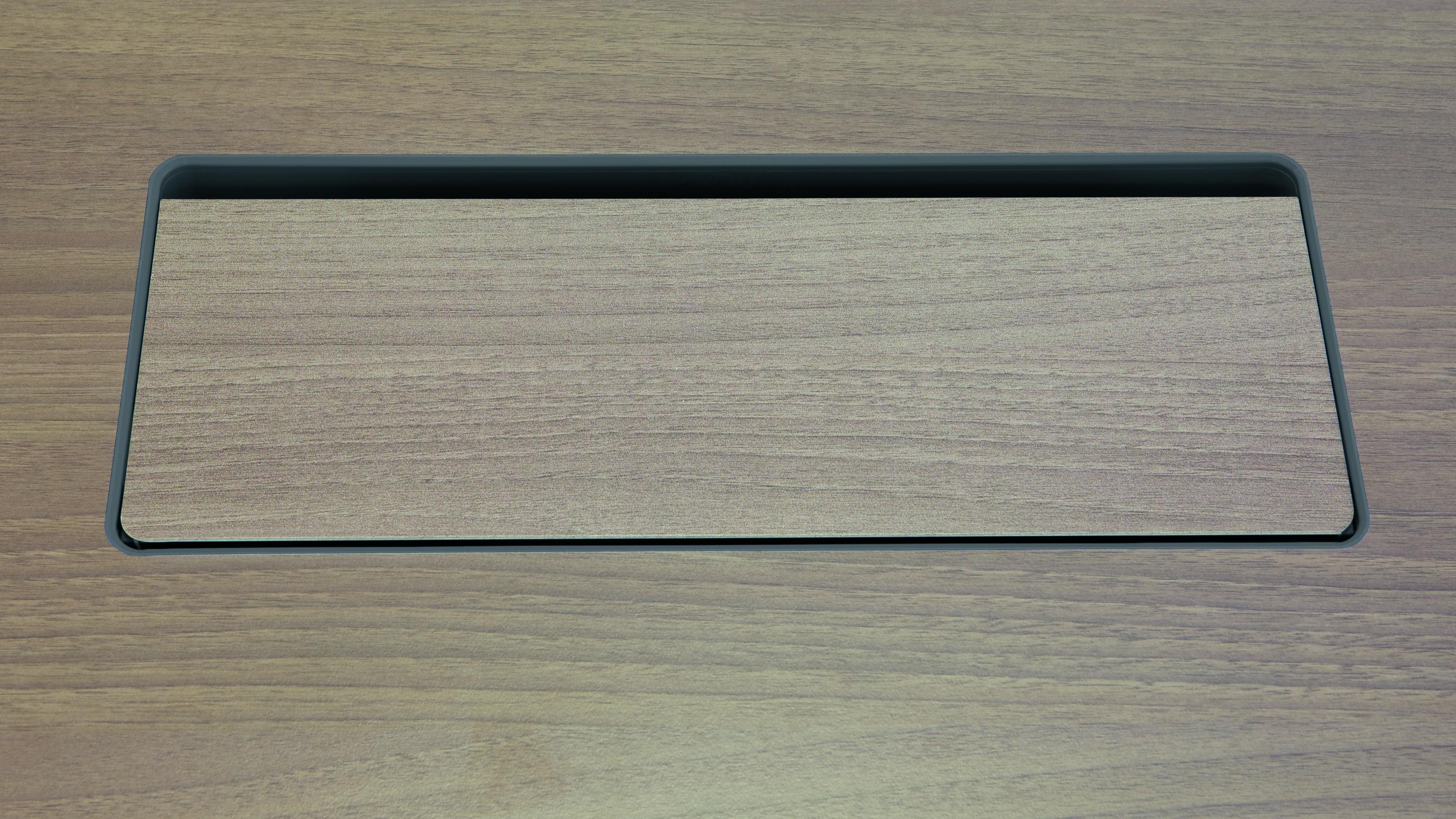 Steelcase Schreibtisch-Elektrifizierung – Kabeldose Plattenbündig