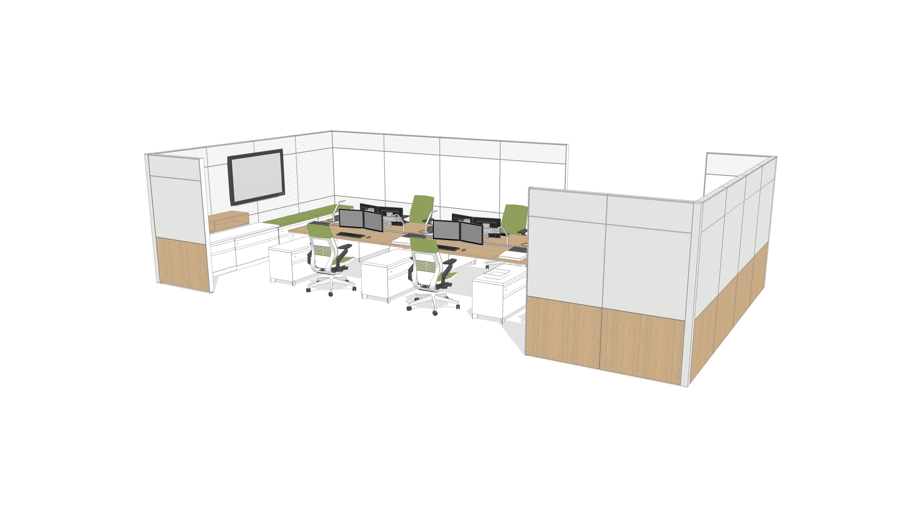 2d amp 3d space planning ecos office furniture - Nh3dk3at