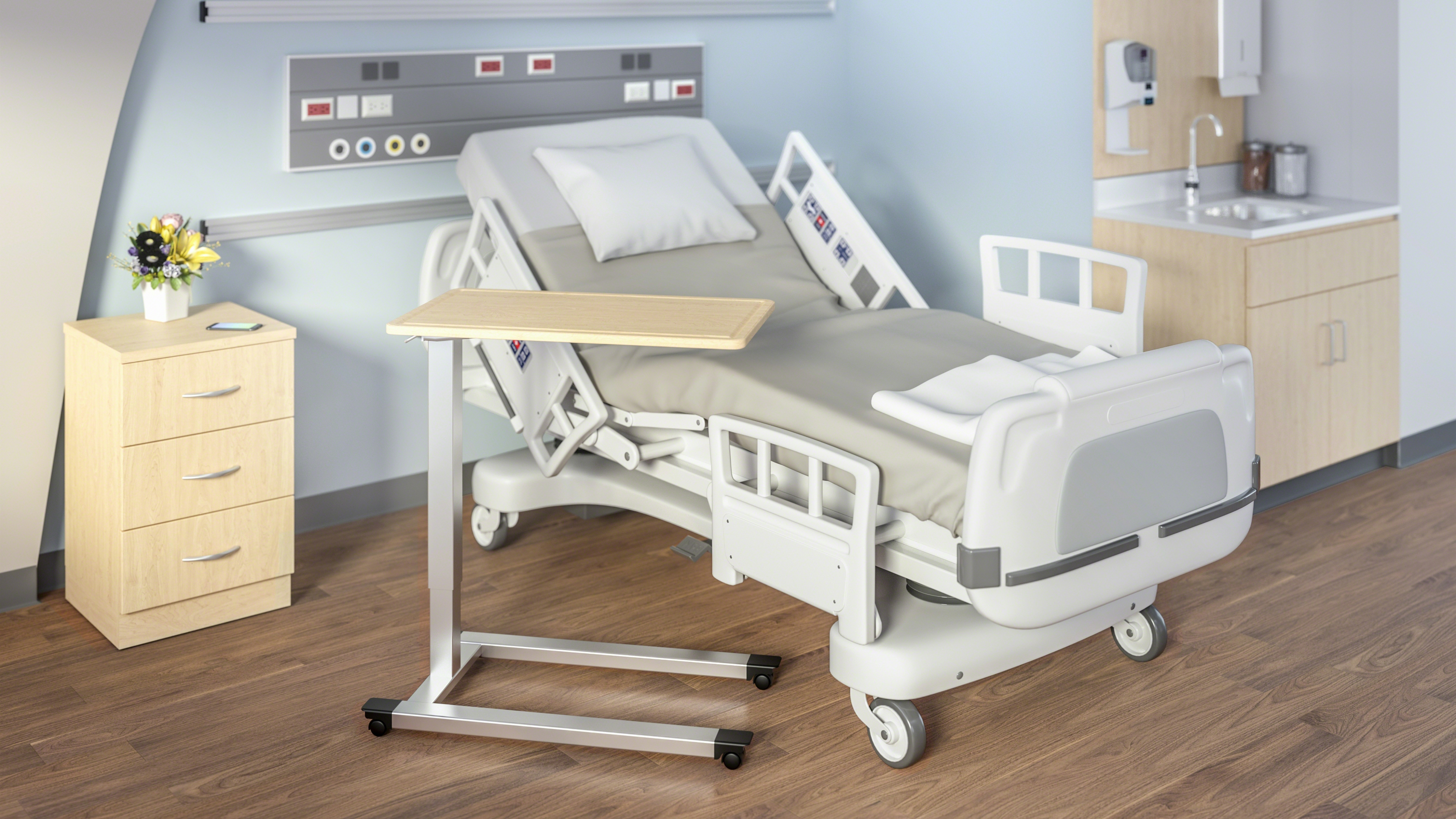 Overbed Tables Healthcare Furniture Steelcase