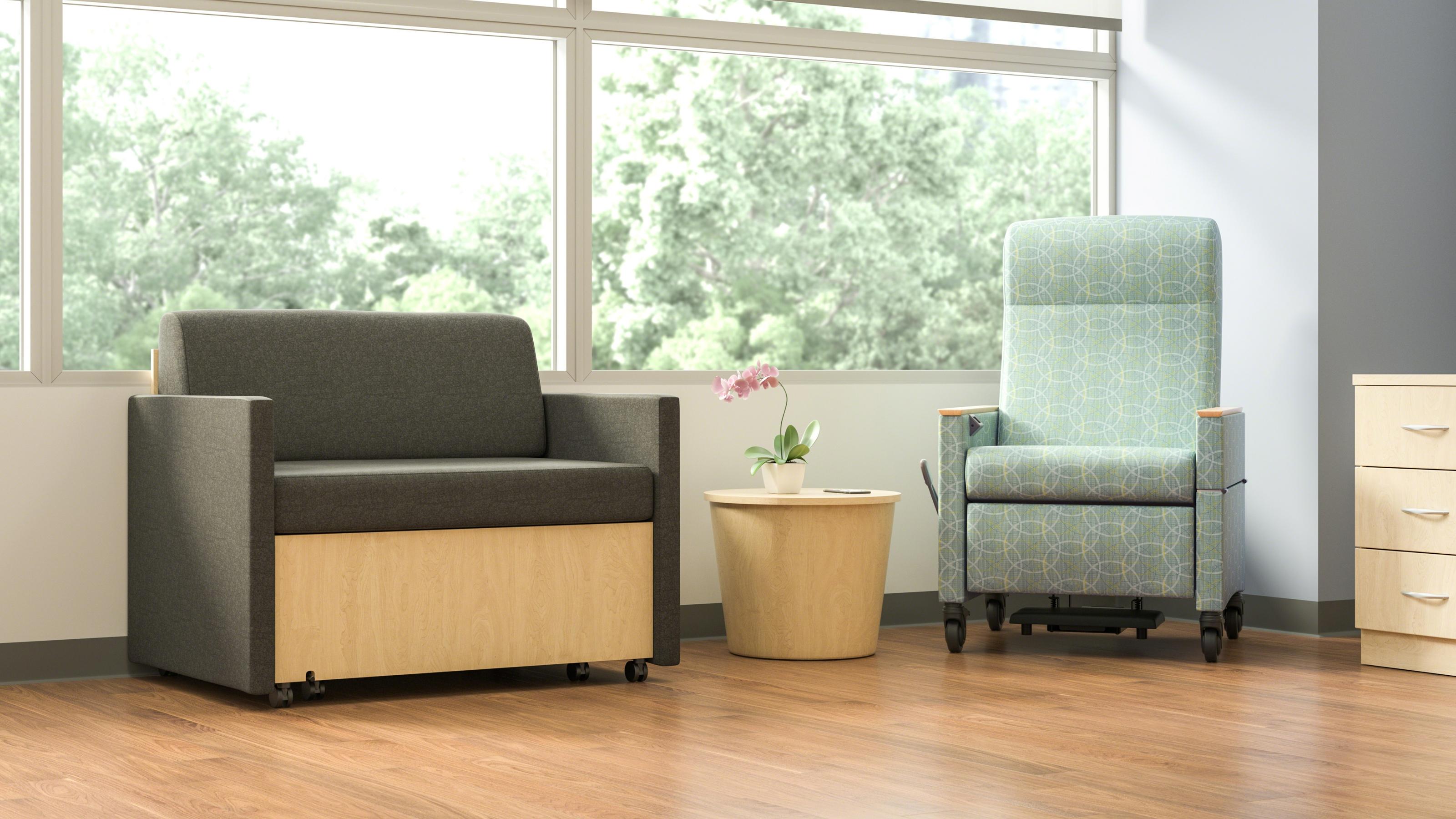 X tenz & Double X tenz Hospital Sofa Sleepers Steelcase