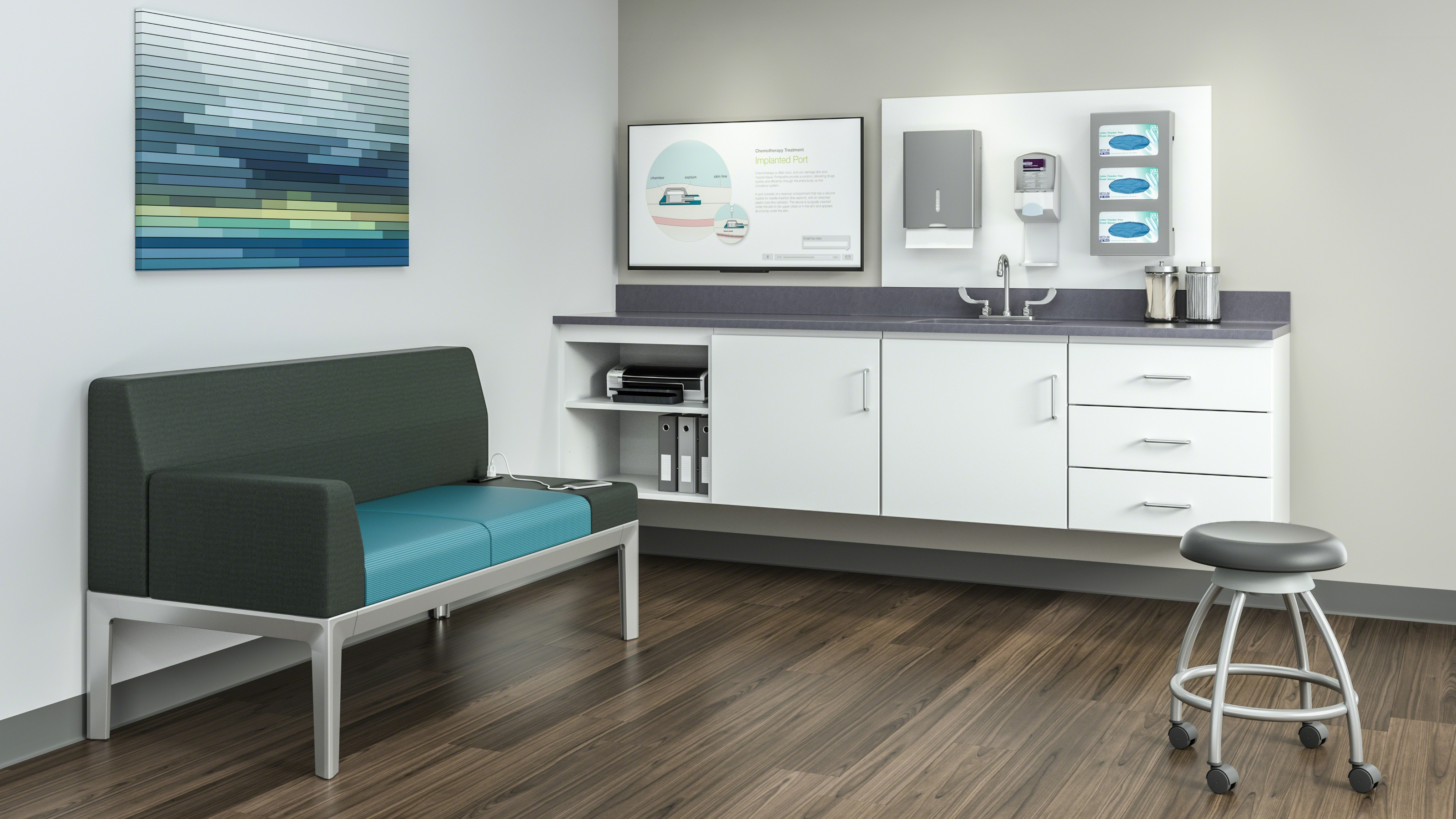 Folio Healthcare Exam Room Cabinets Amp Storage Steelcase